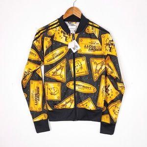 Jeremy Scott x Adidas Originals NWT Plaque Jacket